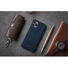 Moshi iGlaze - Etui iPhone 12 Pro Max (system SnapTo) (Midnight Blue)