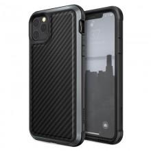 X-Doria Defense Lux - Etui aluminiowe iPhone 11 Pro Max (Drop test 3m) (Black Carbon Fiber)