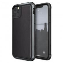 X-Doria Defense Lux - Etui aluminiowe iPhone 11 Pro Max (Drop test 3m) (Black Leather)