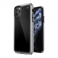 Speck Presidio2 Armor Cloud - Etui iPhone 11 Pro Max z powłoką MICROBAN (Black Fade/Black/Cathedral Grey)
