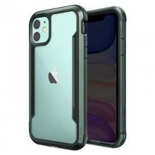 X-Doria Defense Shield - Etui aluminiowe iPhone 11 (Drop test 3m) (Midnight Green)