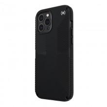 Speck Presidio2 Grip - Etui iPhone 12 Pro Max z powłoką MICROBAN (Black)