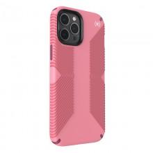 Speck Presidio2 Grip - Etui iPhone 12 Pro Max z powłoką MICROBAN (Vintage Rose/Lush Burgundy)