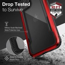 X-Doria Raptic Shield - Etui aluminiowe iPhone 12 Pro Max (Drop test 3m) (Red)