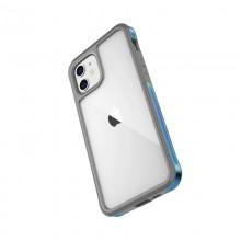 X-Doria Raptic Edge - Etui aluminiowe iPhone 12 Mini (Drop test 3m) (Iridescent)