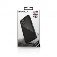X-Doria Raptic Edge - Etui aluminiowe iPhone 12 Pro Max (Drop test 3m) (Black)