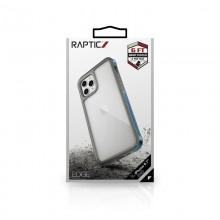 X-Doria Raptic Edge - Etui aluminiowe iPhone 12 Pro Max (Drop test 3m) (Iridescent)
