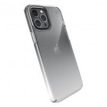 Speck Presidio Perfect-Clear + Ombre - Etui iPhone 12 Pro Max z powłoką MICROBAN (Clear/Atmosphere Fade)