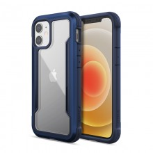 X-Doria Raptic Shield - Etui aluminiowe iPhone 12 Mini (Drop test 3m) (Blue)