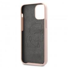 Karl Lagerfeld Fullbody Silicone Iconic - Etui iPhone 12 Pro Max (Light Pink)