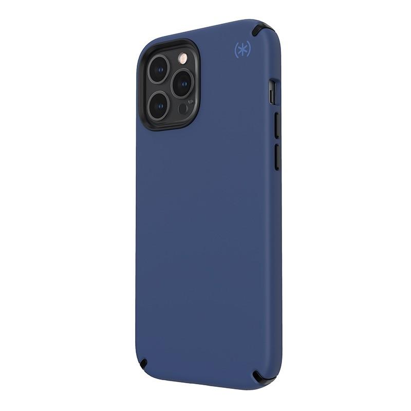 Speck Presidio2 Pro - Etui iPhone 12 Pro Max z powłoką MICROBAN (Coastal Blue/Stormblue)