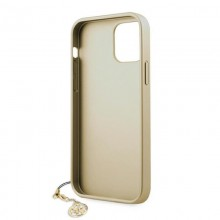 Guess 4G Charms Collection - Etui iPhone 12 Pro Max (szary)