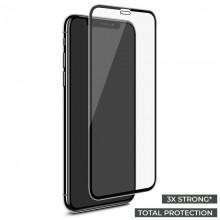 PURO Premium Full Edge Tempered Glass - Szkło ochronne hartowane na ekran iPhone 11 Pro Max / iPhone Xs Max (czarna ramka)