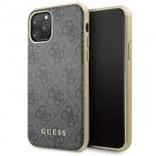 Guess 4G Charms Collection - Etui iPhone 11 Pro (szary)