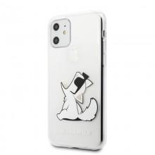 Karl Lagerfeld Choupette Fun Sunglasses - Etui iPhone 11 (przezroczysty)