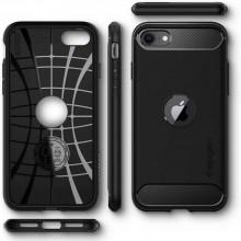 SPIGEN RUGGED ARMOR IPHONE SE 2020  BLACK