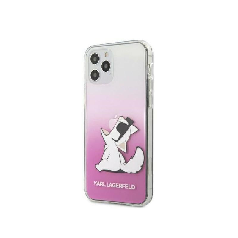 Karl Lagerfeld Choupette Fun Sunglasses - Etui iPhone 12 Pro Max (różowy)