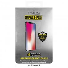 PURO Sapphire Tempered Glass - Szkło ochronne hartowane na ekran iPhone 11 Pro / iPhone Xs / X