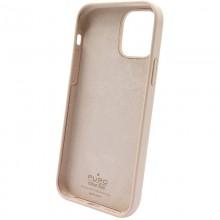 PURO ICON Anti-Microbial Cover - Etui iPhone 12 Pro Max z ochroną antybakteryjną (piaskowy róż)