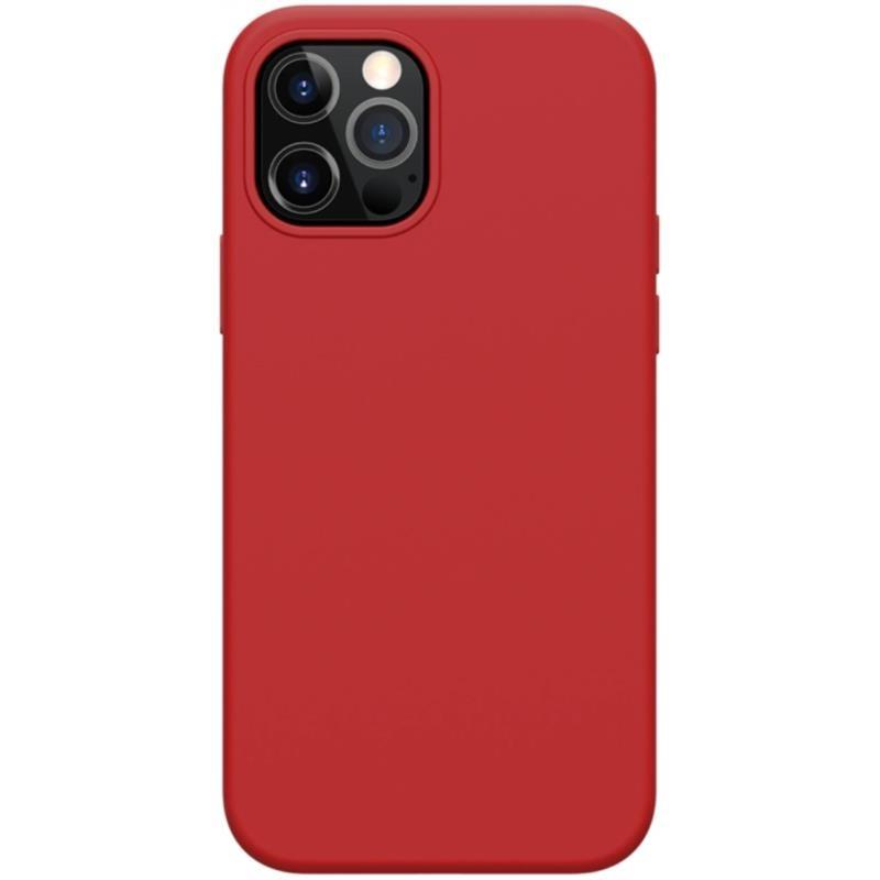 Nillkin Flex Pure Pro Magnetic - Etui Apple iPhone 12 Pro Max (Red)