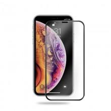 Crong Edge Glass 4D Full Glue - Szkło hartowane na cały ekran iPhone 11 Pro Max / iPhone Xs Max