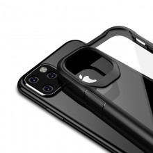 Crong Hybrid Clear Cover - Etui iPhone 11 Pro Max (czarny)