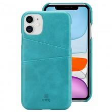 Crong Neat Cover - Etui iPhone 11 Pro z kieszeniami (zielony)