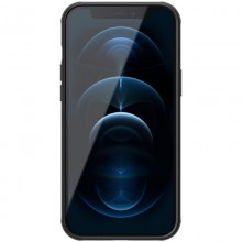 Nillkin Super Frosted Shield Magnetic - Etui Apple iPhone 12 Pro Max (Black)