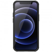 Nillkin Super Frosted Shield Magnetic - Etui Apple iPhone 12 Mini (Black)