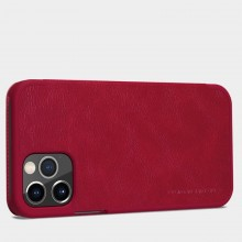 Nillkin Qin Leather Case - Etui Apple iPhone 12 Pro Max (Blue)