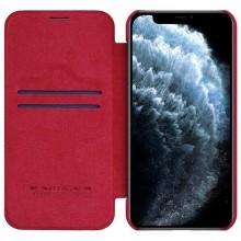 Nillkin Qin Leather Case - Etui Apple iPhone 12 Mini (Blue)