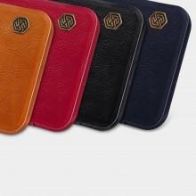 Nillkin Qin Leather Case - Etui Apple iPhone 12 Pro Max (Brown)