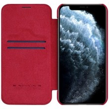 Nillkin Qin Leather Case - Etui Apple iPhone 12 Pro Max (Red)