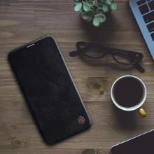 Nillkin Qin Leather Case - Etui Apple iPhone 12 Pro Max (Black)
