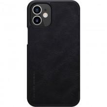 Nillkin Qin Leather Case - Etui Apple iPhone 12 Mini (Black)