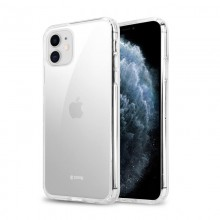 Crong Crystal Shield Cover - Etui iPhone 11 (przezroczysty)