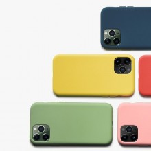 Crong Color Cover - Etui iPhone 11 (granatowy)
