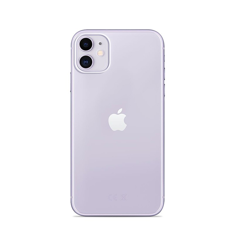PURO 0.3 Nude - Etui iPhone 12 Mini (przezroczysty)