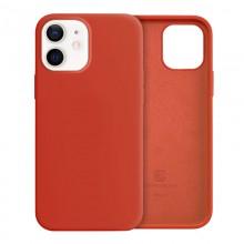 Crong Color Cover - Etui iPhone 12 Mini (czerwony)