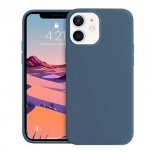 Crong Color Cover - Etui iPhone 12 Mini (granatowy)
