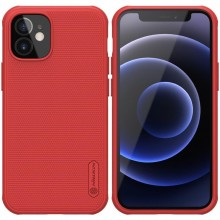 Nillkin Super Frosted Shield Pro - Etui Apple iPhone 12 Mini (Red)