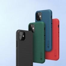 Nillkin Super Frosted Shield Pro - Etui Apple iPhone 12 Mini (Deep Green)