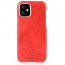 Crong Essential Cover - Etui iPhone 11 (czerwony)