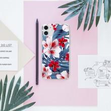 Crong Flower Case – Etui iPhone 11 (wzór 03)