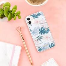 Crong Flower Case - Etui iPhone 12 Mini (wzór 01)