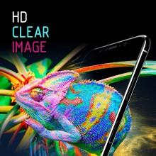 Crong 7D Nano Flexible Glass - Szkło hybrydowe 9H na cały ekran iPhone 11 / iPhone XR