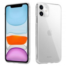 Crong Crystal Slim Cover - Etui iPhone 11 (przezroczysty)