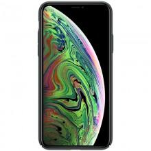 Nillkin Super Frosted Shield - Etui Apple iPhone 11 Pro Max z wycięciem na logo (Dark Green)