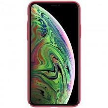 Nillkin Super Frosted Shield - Etui Apple iPhone 11 Pro z wycięciem na logo (Bright Red)