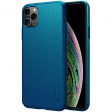 Nillkin Super Frosted Shield - Etui Apple iPhone 11 Pro (Peacock Blue)